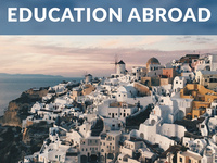 Education Abroad General Information Meeting