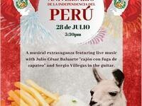 Celebrating Peru Independence Day