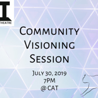 Invitation to a Community Visioning Session at Chamberlayne Actors Theatre