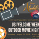 Welcome Week Outdoor Movie and Popsicles with APB and FSL