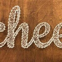 String Art with Crafters Yoga