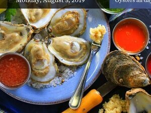 National Oyster Day at Phillips Seafood Restaurant
