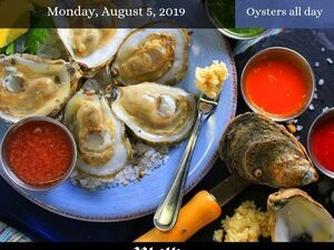 National Oyster Day at Phillips Crab Deck