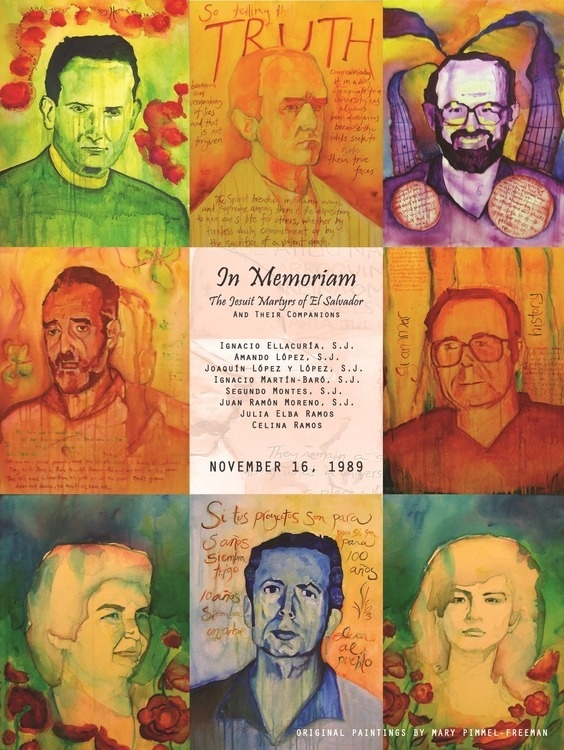 30th anniversary commemoration of the martyrs of El Salvador