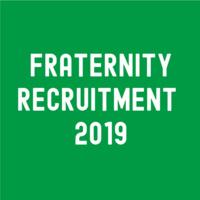 Fraternity Recruitment Week