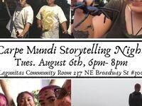 Carpe Mundi Storytelling Night
