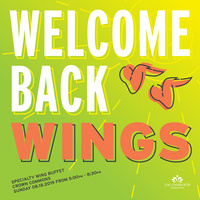Welcome Back Wings at Crown Commons