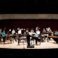 UAB Percussion Ensemble in concert