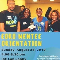 Each One Reach One Mentee Orientation (EORO)