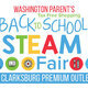 STEAM Event sponsored by Washington Parent magazine and hosted by Clarksburg Premium Outlets on Day 1 of MD tax free week