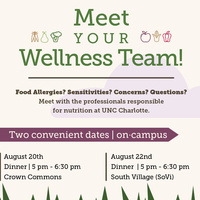 Meet Your Dining Services Wellness Team