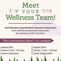 Meet Your Dining Services Wellness Team