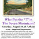 """Who Put the """"7"""" in the Seven Mountains"""
