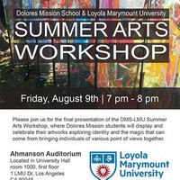 Summer Arts Workshop Final Presentation