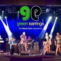 Green Earrings - The Steely Dan Experience