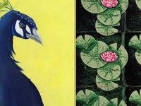 Art at Lan Su: Gail Owen & Katie Preston