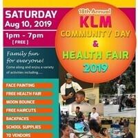 KLM Community Day & Health Fair 2019