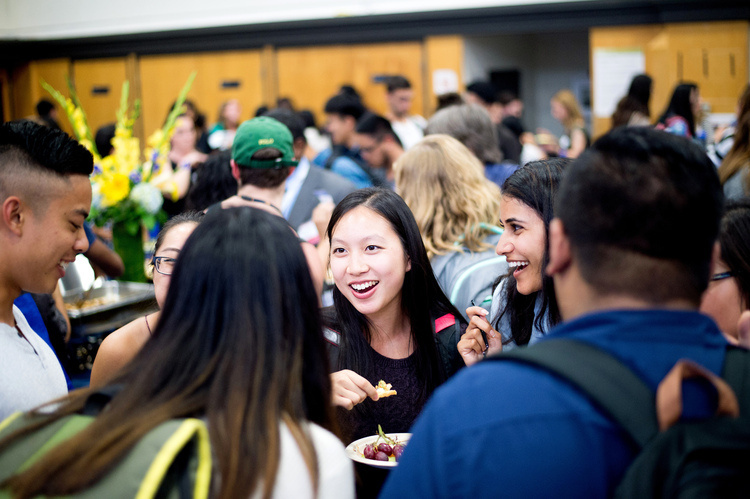 Sep 23, 2019: Chancellor's Fall Reception for UCSF Students at Millberry Union Gym