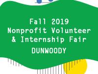Dunwoody Campus Nonprofit Volunteer and Internship Fair