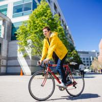 UCSF Biking at the Farmer's Market @ Parnassus