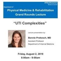 PM&R Grand Rounds: UTI Complexities