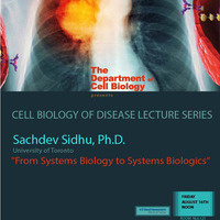 """Seminar:  """"From Systems Biology to Systems Biologics"""""""