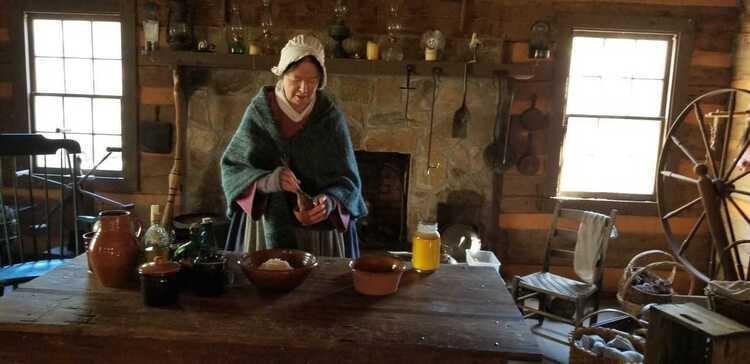 Hunt Cabin Open House- Family Celebration Foods