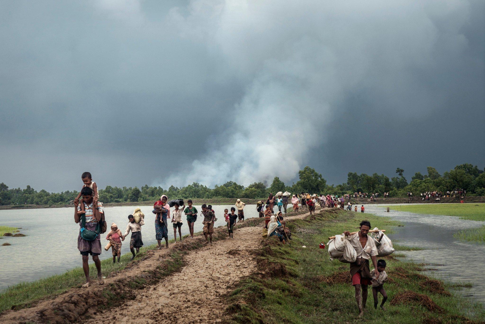 The Rohingya: Statelessness, Refugeehood and a 'Subhuman' Life, by Nasir Uddin