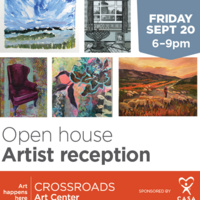 September Open House + Artist Reception