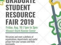 Graduate Student Resource Fair