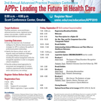 2nd Annual APP Conference: APPs-Leading the Future in Health Care