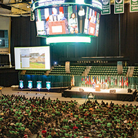New Student Convocation Ceremony