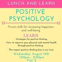 Positive Psychology  - Lunch & Learn