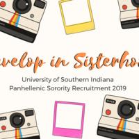 Panhellenic Sorority Recruitment Formal