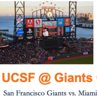 UCSF @ SF Giants Game