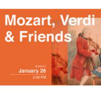 Mozart, Verdi and Friends