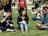 CALS-sponsored Wellbeing Lunchtime Event~ Lawn Games For All