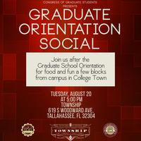 COGS Graduate Orientation Social