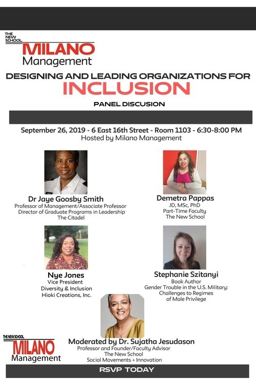 Designing and Leading Organizations for Inclusion