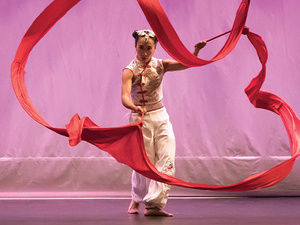 Ribbon Dance of Empowerment: Chinese Dance through the Eyes of an American