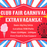 Club Fair Carnival Extravaganza