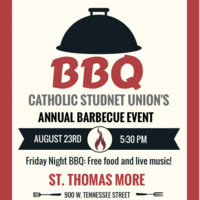 Barbeque at St. Thomas More