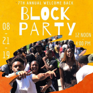 Back to School Week Block Party
