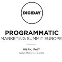 Digiday Programmatic Marketing Summit Europe