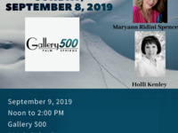 Gallery 500 Author Event with Authors Maryann Ridini Spencer and Holli Kenley