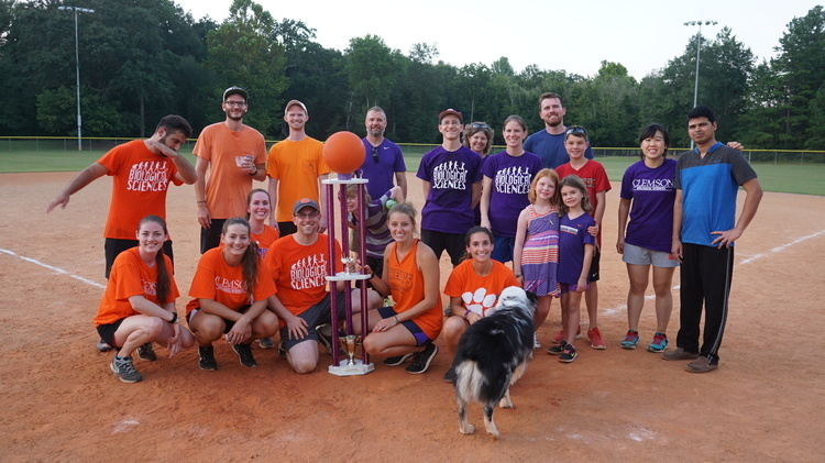 BSGSA BBQ Potluck/Kickball Game - grads vs. faculty/staff!