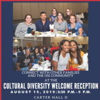 Cultural Diversity Welcome Reception