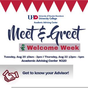 Meet & Greet - Welcome Week