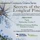 Environmental Community Cinema: Secrets of the Longleaf Pine