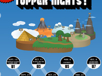 Topper Nights! World Two: Fall Festival